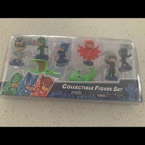 PJ Masks Collectible Figure Set 8 Pieces New